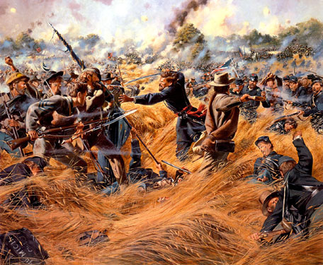 the battles of gettsyburg